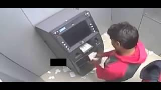 Cara Baru Pencuri ATM Di India, Cuma 1 Menit