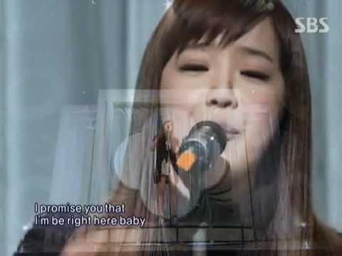 Park Bom - You & I (박봄 - 유앤아이) @ SBS Inkigayo 인기가요 091115