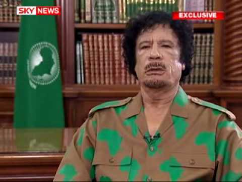 Exclusive: Gaddafi Sorry For WPC Yvonne Fletchers Murder