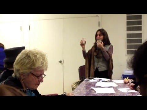 NPHD Workshop on Cultivating Creativity for Seniors