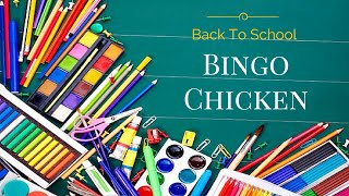 Back To School Bingo Chicken #sponsored