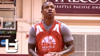 Isaiah Thomas Drops 50 Points at Seattle Pro Am! Nasty Handles!