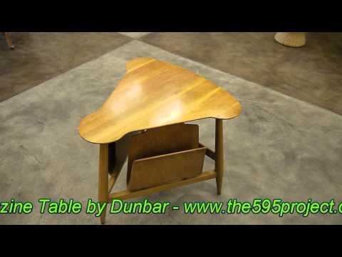 Dunbar Magzine Table