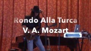 "Моцарт на гитаре. Турецкий марш на гитаре. ""Rondo Alla Turca"" V  A  Mozart"
