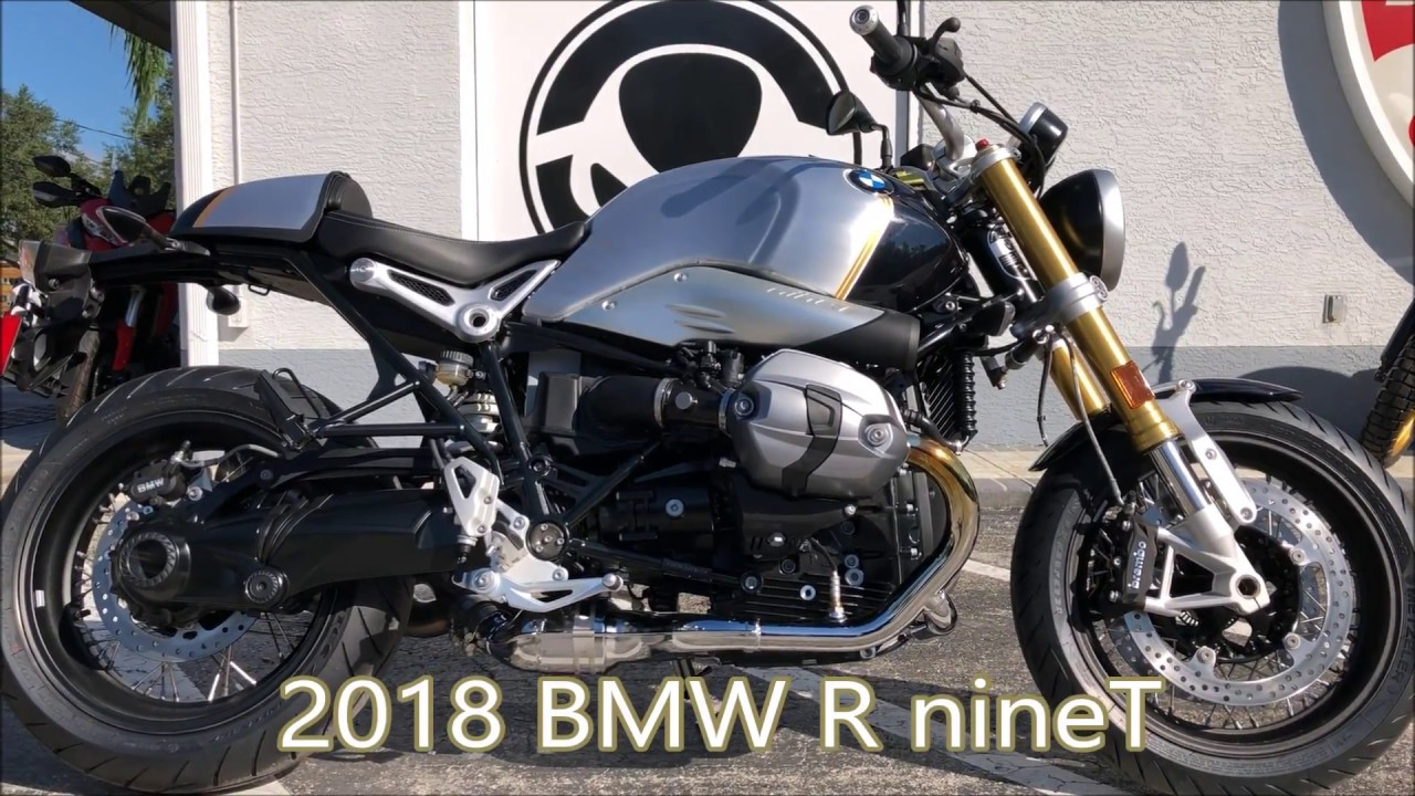 2018 Bmw R Nine T In Blue Planet Metallic At Euro Cycles