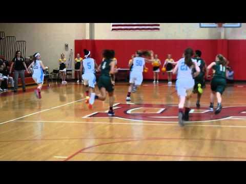 Catholic/St. Timothy's basketball IAAM C finals 2/17/14