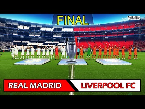 REAL MADRID vs LIVERPOOL FC | UEFA Champions League Final | Full Match | PES 2018 Gameplay PC