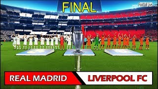 PES 2018 | REAL MADRID vs LIVERPOOL FC | UEFA Champions League Final | Full Match