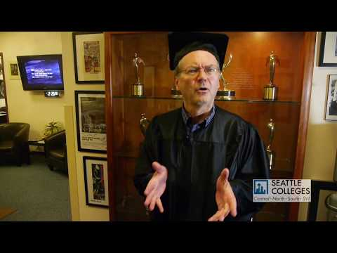 SCCtv's Professor Fred on Continuing Education Classes at the Seattle Colleges!