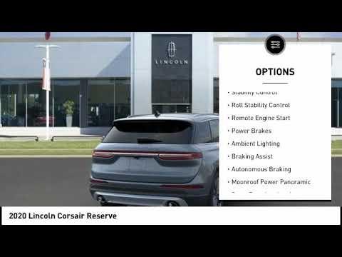 Lincoln Dealership Houston >> 2020 Lincoln Corsair Houston Tx 0c069
