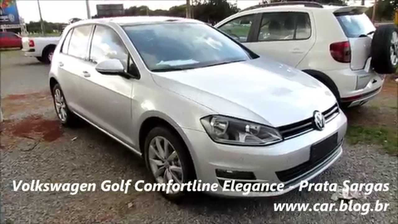 volkswagen golf comfortline 2015 prata sargas youtube. Black Bedroom Furniture Sets. Home Design Ideas