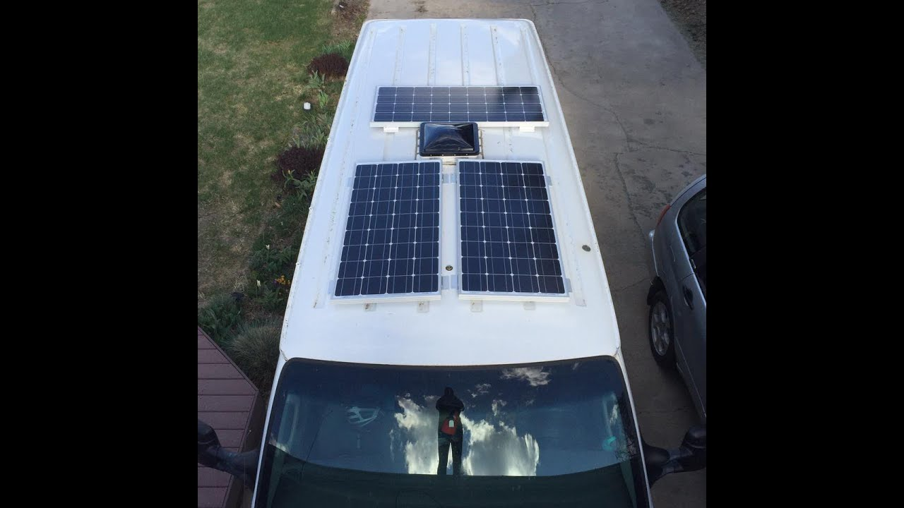 Living In A Van How To Install Renogy Solar Panels