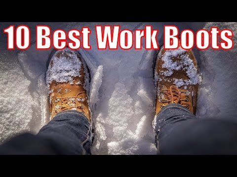 Top 10 Best Work Boots - Steel Toe Boots