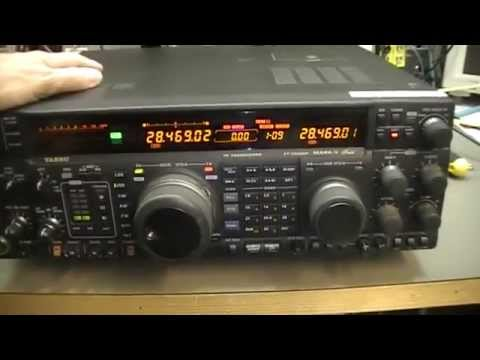 #23 Radio Maintenance: Yaesu FT-1000MP; RX check up and product safety tests