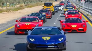 SUPER AUTOS DE LUJO DEL MEDIO ORIENTE : DUBAI!