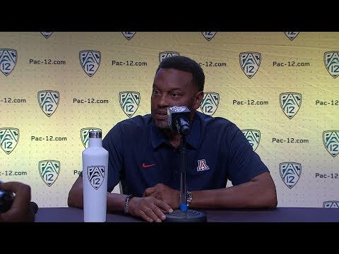 2018 Pac-12 Football Media Day: Arizona's Kevin Sumlin podium session