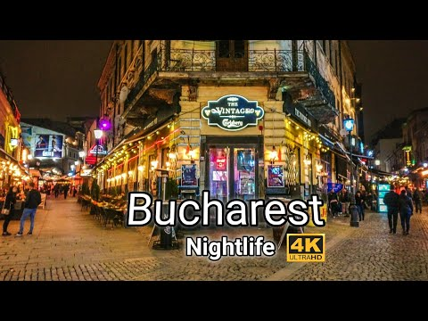 Bucharest Romania NIGHTLIFE