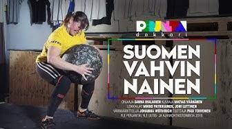 Perjantai-dokkari: Suomen vahvin nainen Annika treenasi vain kolme vuotta ennen voittoa