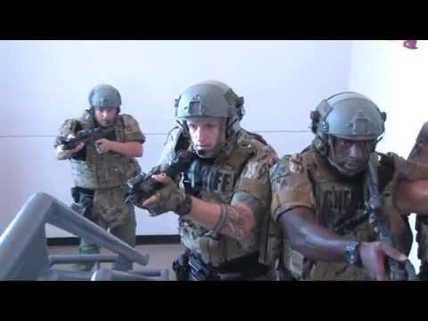 SWAT Training @ Suncoast Polytechnical High School