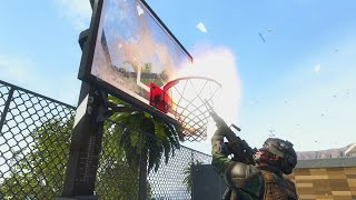Black Ops 2 - Crispy Killcams #32 (Basketball Hoop Trickshot, Funny RC-XD Kills, & Back to School!)