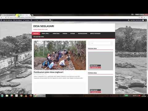 Website SIdeka Wordpress Tutorial 4 Membuat Halaman & Menampilkan Halaman ke Menu thumbnail