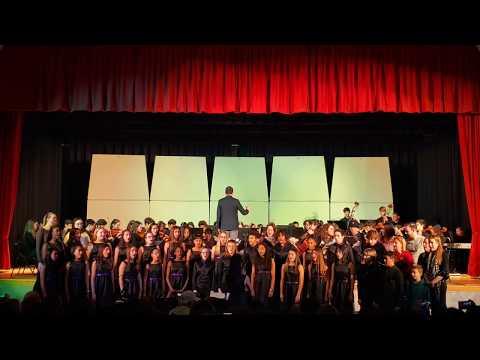 """""""Hallelujah"""" Chorus from Händel's Messiah - Mark Twain Middle School Winter Concert 2019"""