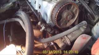 видео Расположение меток ГРМ Ford 1.8 D TD TDI