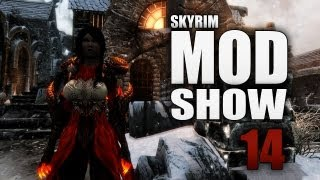 Skyrim Mod Show #14 - FR : Sit Animation, Immersive Weapons, Vindictus Dark Knight, Infernal Armor