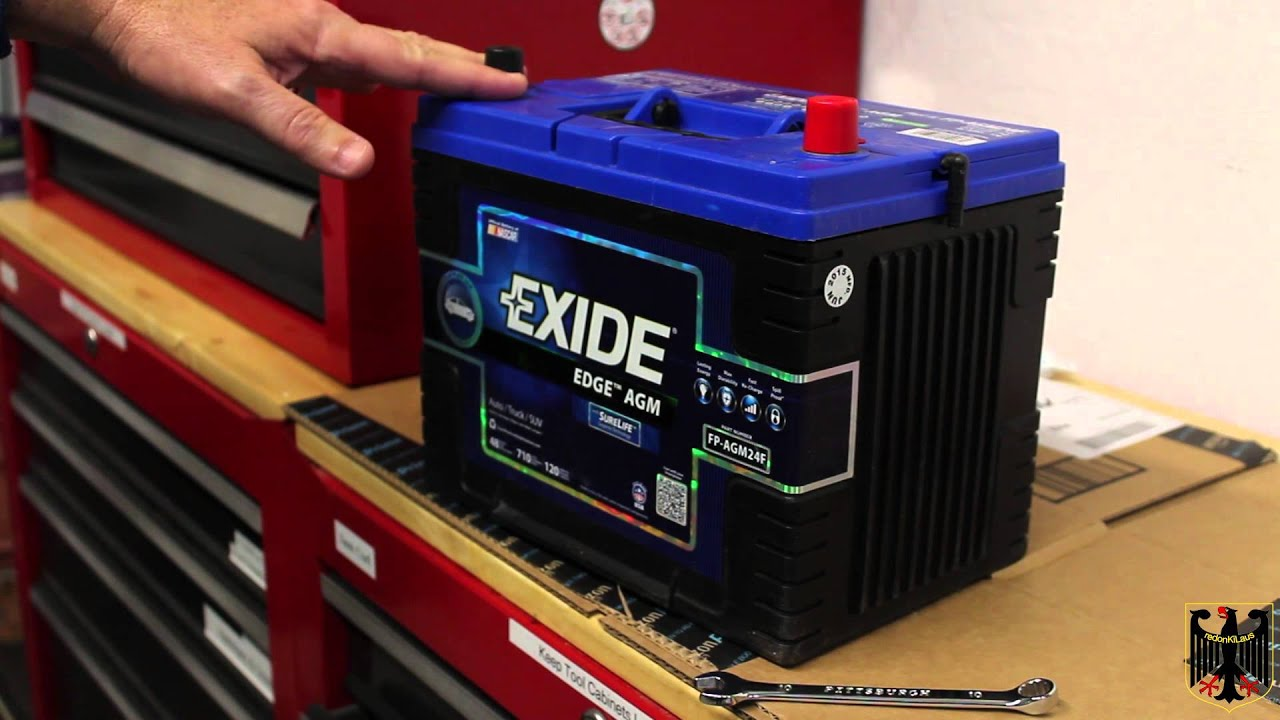 Exide Edge Agm Battery Install