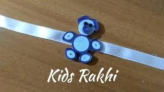 DIY | Kids Rakhi | Quilling Rakhi | Handmade Rakhi