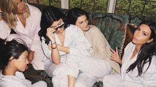Kim Kardashian's Girl Scout Pajama Baby Shower! Even Khloe Stops By
