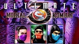 MK3 Arcade Kollection (UMK3) - Unlock hidden Characters (Ermac,Mileena,Classic Sub Zero) УМК3 (МК3)