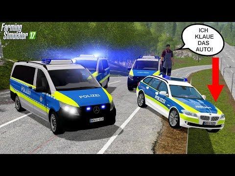 LS17 - Praktikant trickst Polizei bei Verfolgungsjagd aus 🚨👮