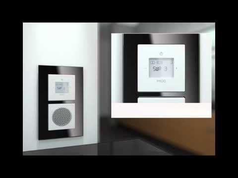 busch jaeger busch prion einbauradio idock youtube. Black Bedroom Furniture Sets. Home Design Ideas