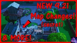 *NEW* All 9.21 Map Changes! (Secret v9.21 Update Map Changes) | Fortnite Battle Royale