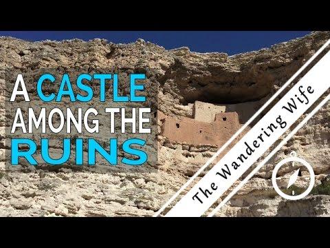 Sedona, Arizona: Montezuma Castle Cliff Dwellings & Volcanoes | TRAVEL VLOG #0010