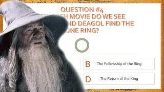 The Lord of the Rings Movie Trilogy Quiz