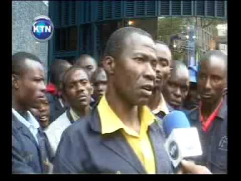 Twiga stationers industrial unrest
