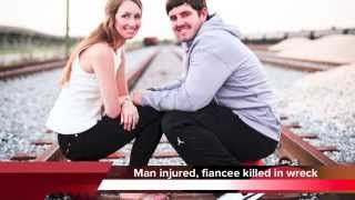 Bride killed in crash on way to wedding - Brittany Huber and John Redman