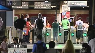 SP: Presos dois homens acusados de abusar de mulheres no metrô