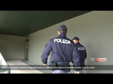 MINACCIA LA EX E TENTA DI INCONTRARLA: ARRESTATO P...