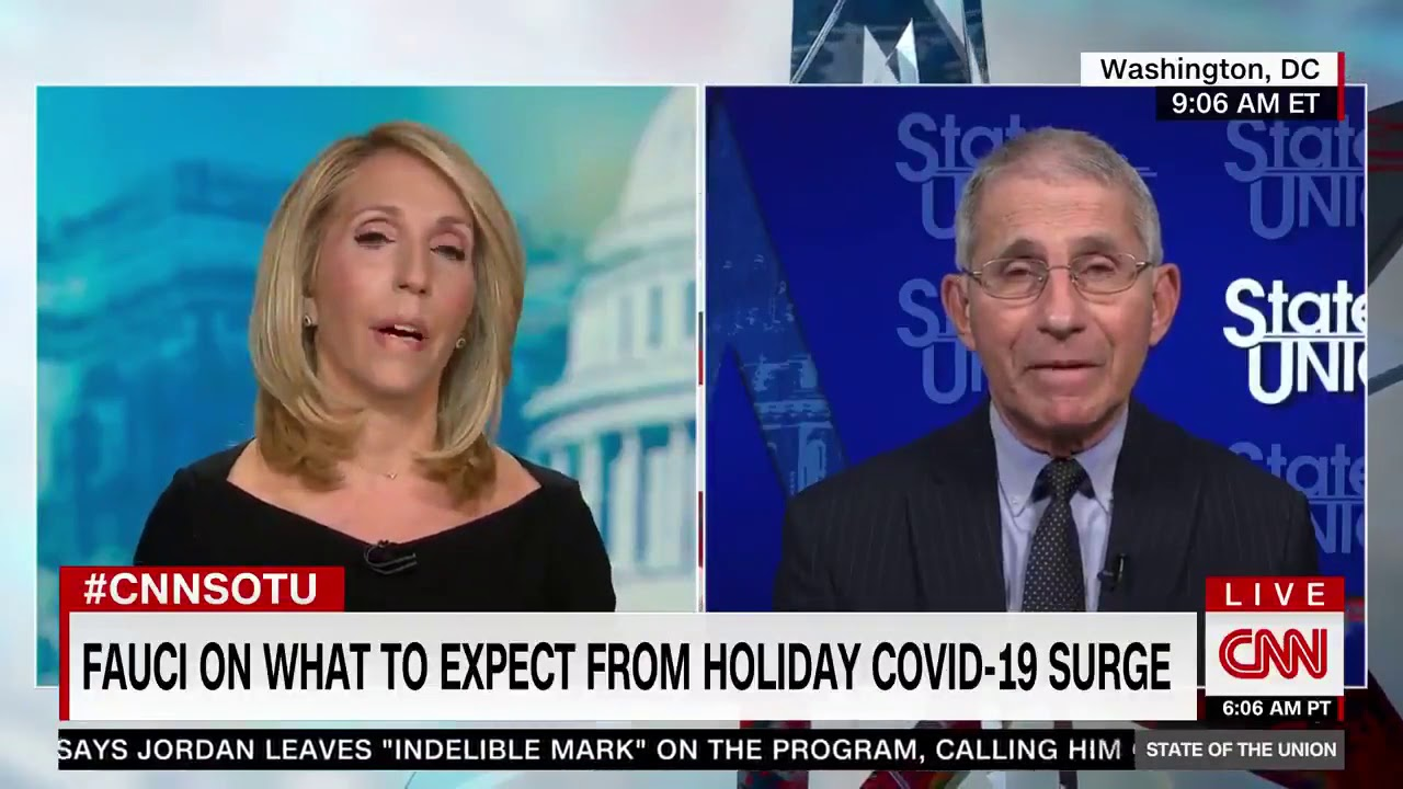 "DanaBashCNN  presses Dr. Fauci on his comments about ""moving the goal posts"" on herd immunity"