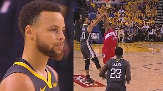 Stephen Curry Finally Gets Foul Called For Kicking His Legs Out In Game 4 Unlike James Harden!