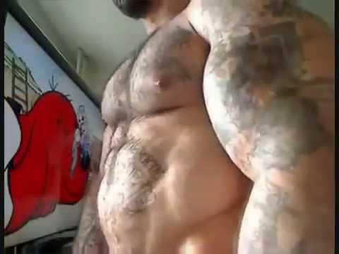 Furry Muscle Men