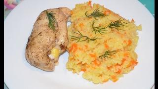 Фаршированное куриное филе  (Вкусняшки от Ксюняшки)