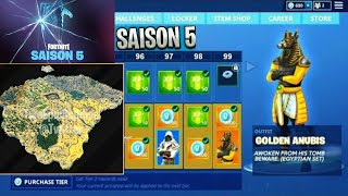 A FREE PIOCHE FOR THE SAISON COMBAT PAS5 - NEW CARTE on Fortnite Battle Royale !!!