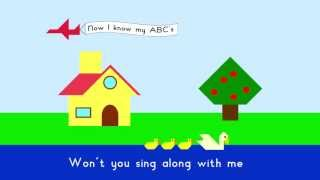 ABC Song - Tangram Animal Alphabet
