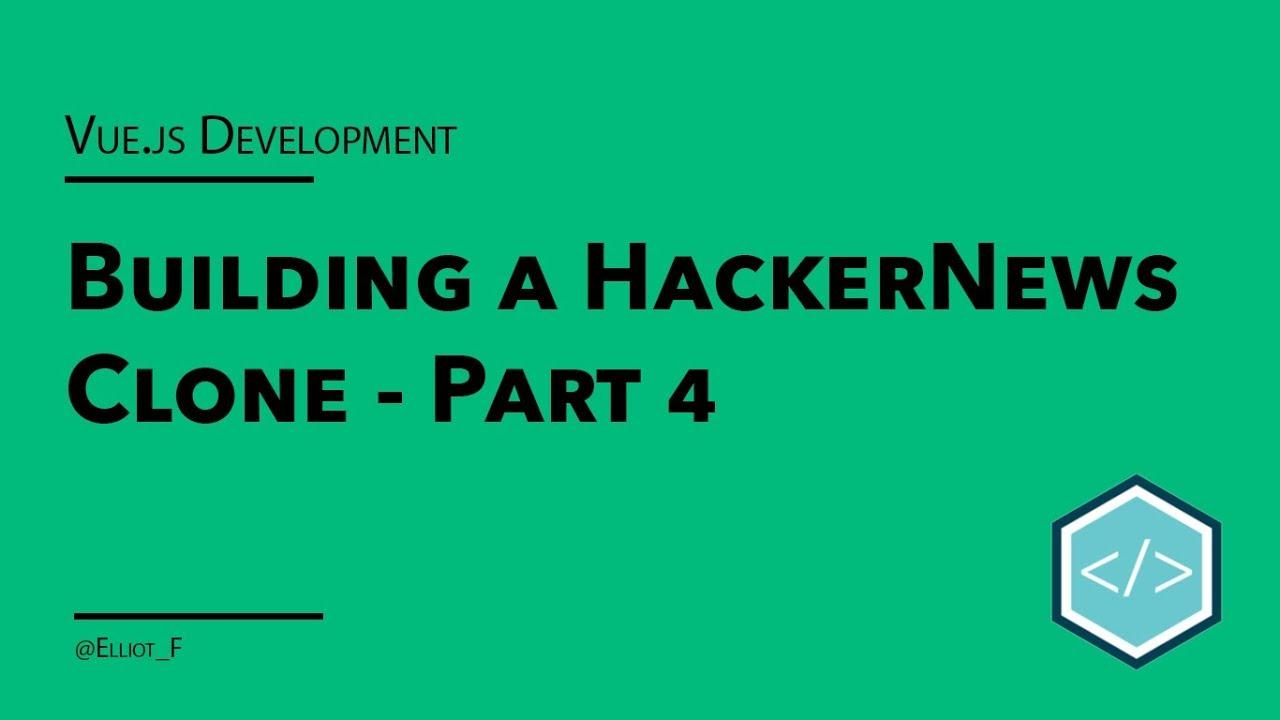 Part 4 - Hitting The HackerNews API   TutorialEdge net