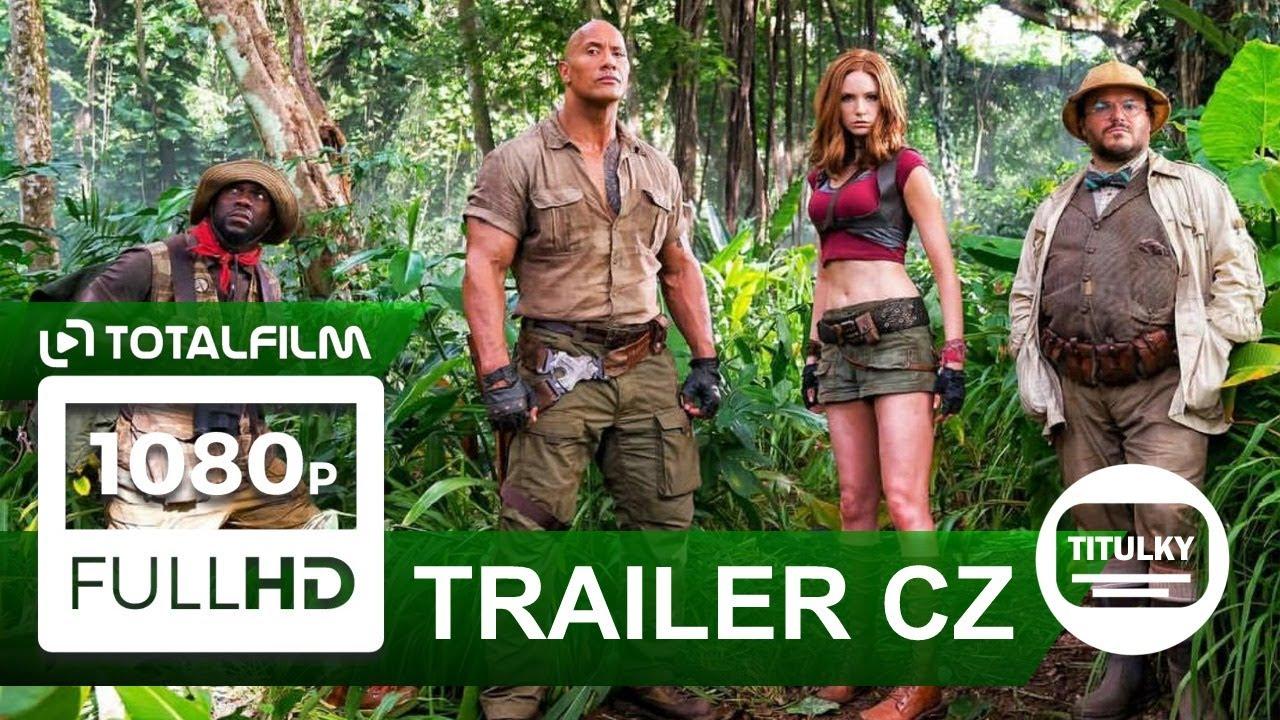 Jumanji: Vítejte v džungli! (2017) CZ HD trailer