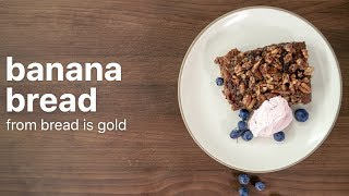 Easy To Make Banana Bread | From Massimo Bottura